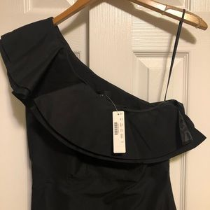 🍸NWT J. Crew one shoulder cocktail dress